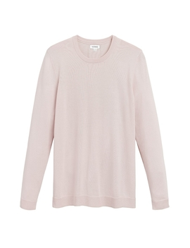 Classic Cotton Cashmere Crewneck Sweater by Cuyana