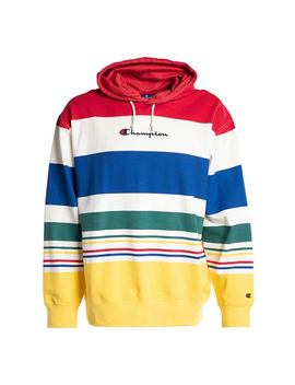Champion Small Script Multicolor Logo Hoody by Champion
