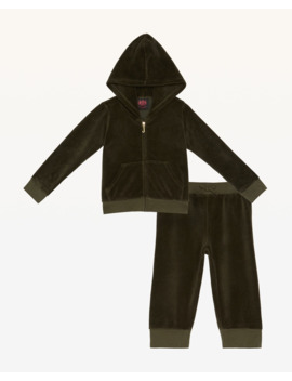 Velour Track Set For Baby by Juicy Couture