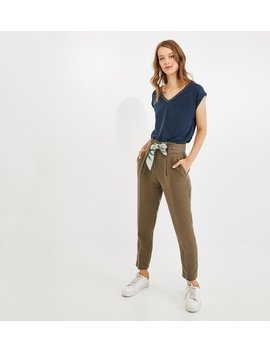 Pantalon Foulard Femme by Promod