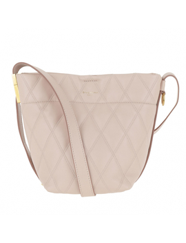 Mini Gv Bucket Bag Quilted Leather Pale Pink by Givenchy