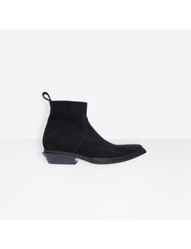 Santiag Booties by Balenciaga