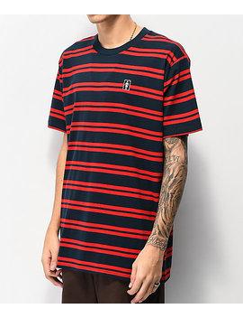 girl-striped-og-navy-&-red-t-shirt by girl