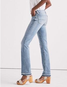 Sweet Mid Rise Straight Leg Jean With Released Hem by Lucky Brand