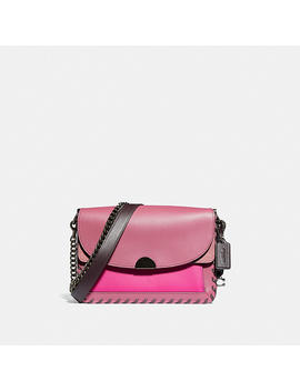 Dreamer Shoulder Bag In Colorblock With Whipstitch by Coach