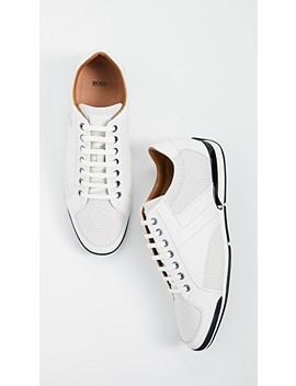 Saturn Low Profile Sneakers by Boss Hugo Boss