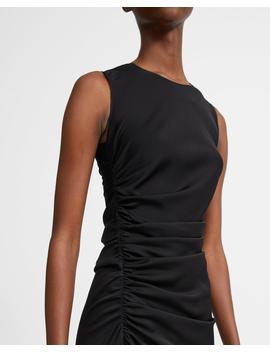 Stretch Silk Twisted Dress by Theory
