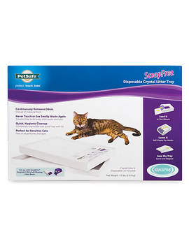 Pet Safe® Scoop Free® Disposable Crystal Litter Tray   Sensitive by Pet Safe