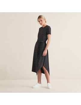 Asymmetric Jersey Dress by Seed Heritage
