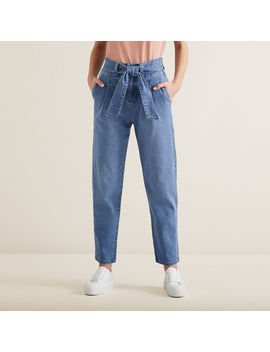 Tie Up Denim Pants by Seed Heritage