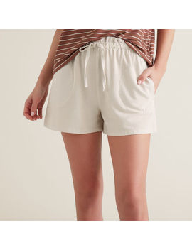 Paper Bag Tie Up Shorts by Seed Heritage