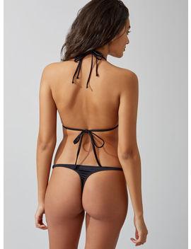 Ring Detail Thong Bikini Bottoms by Bouxavenue