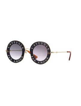 Gucci Gg0113 S 001 by Gucci Sunglasses