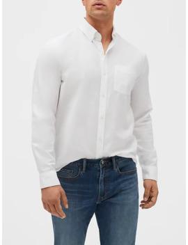 Long Sleeve Oxford Shirt by Gap