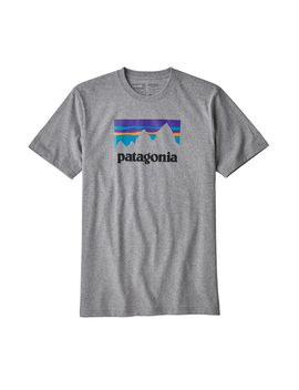 Patagonia Men's Shop Sticker Responsibili Tee® by Patagonia