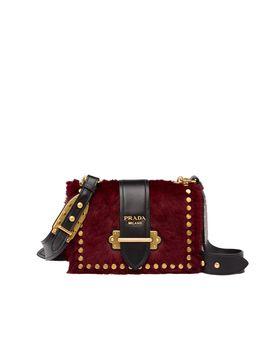 Prada Cahier Calf Hair Bag by Prada