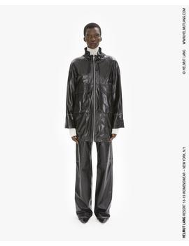 Leather Anorak by Helmut Lang