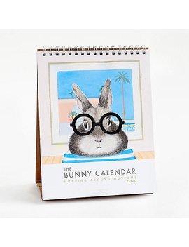 2020 Dear Hancock Bunny Museum Calendar by Paper Source