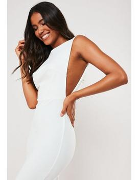Robe Mi Longue Blanche by Missguided