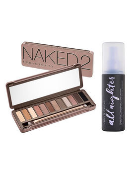 Naked2 Palette And Setting Spray Set                                 Naked2                                 All Nighter by Urban Decay