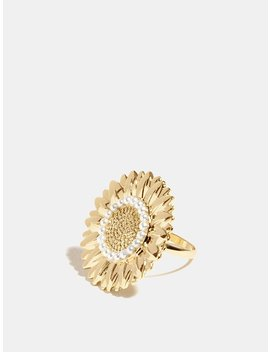 Statement Sunflower Ring by Skinny Dip
