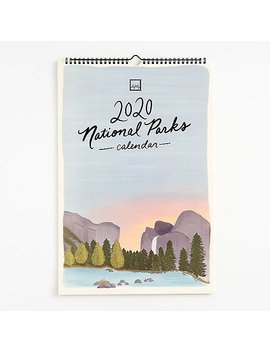 2020 National Parks Calendar by Paper Source