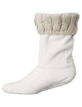 Hunter Women's Original 6 Stitch Cable Short Boot Sock by Hunter