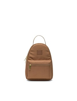 Nova Mini Backpack In Brown by Little Burgundy
