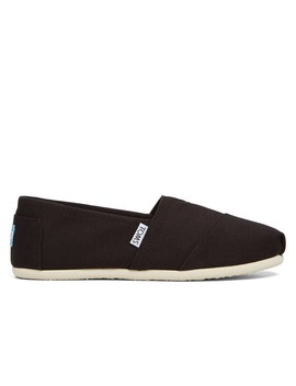 Women's Alpargata Canvas Black Misc. Slip On by Little Burgundy