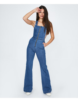 Eastcoast Denim Flare Overall Judy Blue by General Pants Co