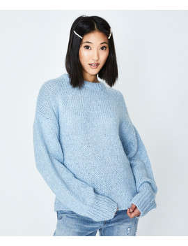 Candice Slouchy Knit Blue by General Pants Co