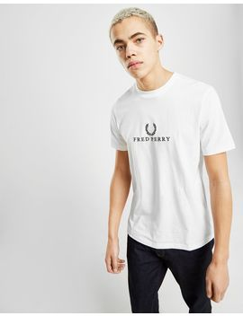 Fred Perry Embroidered T Shirt by Fred Perry