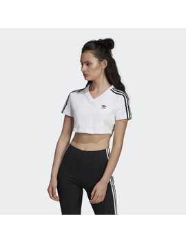 Cropped T Shirt by Adidas
