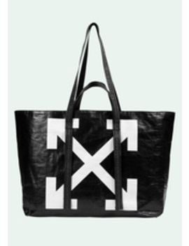 Black Arrows Tote Bag by Off White