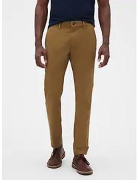 Essential Khakis In Skinny Fit With Gap Flex by Gap