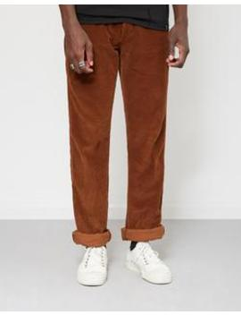 New Dallas Jumbo Cord Trousers Brown by Lois Jeans