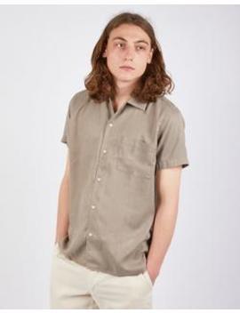 Fazely Short Sleeve Shirt Sand by Wax London