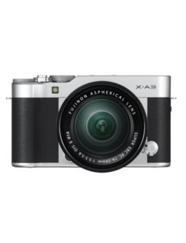 Fujifilm X A3 Mirrorless Camera Bundle With Xc16 50mm F3.5 5.6 Ois Ii Lens (Available In: Silver, Brown, And Pink) by Fujifilm
