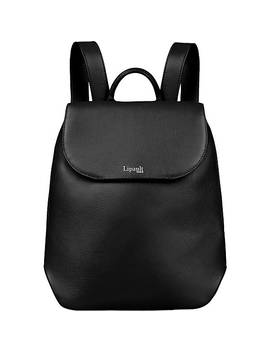 Plume Elegance Small Leather Backpack by Lipault Paris