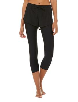 High Waist 2 In 1 Capri by Aloyoga