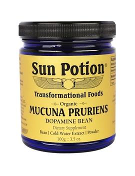Sun Potion, Mucuna Pruriens Powder, Organic, 3.5 Oz (100 G) by Sun Potion