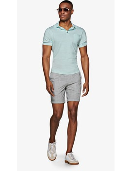 Light Mint Polo by Suitsupply