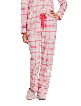 Women's Tall Print Flannel Pajama Pants by Lands' End