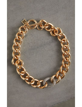 Pave Link Collar Necklace by Bcbgmaxazria