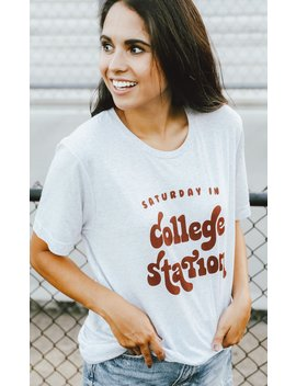 Charlie Southern: Saturday In College Station T Shirt by Riffraff