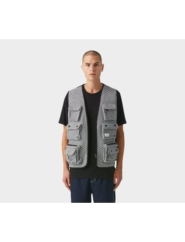Vardy Military Vest   Pepper Grey by I Love Ugly