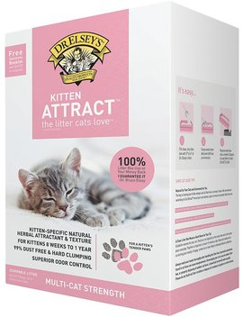 Dr. Elsey's Precious Cat Kitten Attract Training Cat Litter, 20 Lb Box by Dr. Elsey's