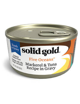 Solid Gold Five Oceans™ Cat Food   Shreds, Grain Free, Gluten Free by Solid Gold