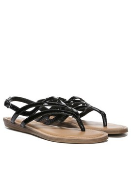 Women's Snazzy Too Thong Sandal by Fergalicious
