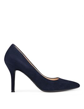 Fifth Pointy Toe Pumps   French Navy Suede by Nine West